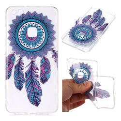 Blue Wind Chimes Super Clear Soft TPU Back Cover for Huawei P10 Lite P10Lite