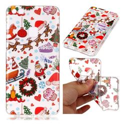 Christmas Playground Super Clear Soft TPU Back Cover for Huawei P10 Lite P10Lite