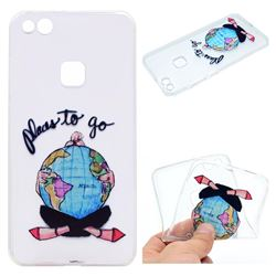 Global Travel Super Clear Soft TPU Back Cover for Huawei P10 Lite P10Lite