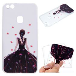 Wedding Girl Super Clear Soft TPU Back Cover for Huawei P10 Lite P10Lite