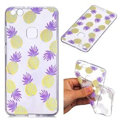 Carton Pineapple Super Clear Soft TPU Back Cover for Huawei P10 Lite P10Lite
