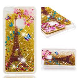 Golden Tower Dynamic Liquid Glitter Quicksand Soft TPU Case for Huawei P10 Lite P10Lite