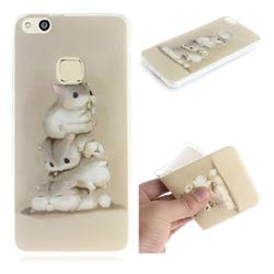 Three Squirrels IMD Soft TPU Cell Phone Back Cover for Huawei P10 Lite P10Lite