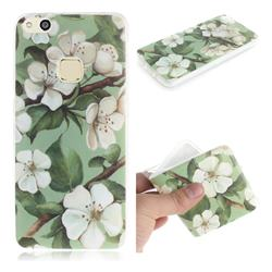 Watercolor Flower IMD Soft TPU Cell Phone Back Cover for Huawei P10 Lite P10Lite