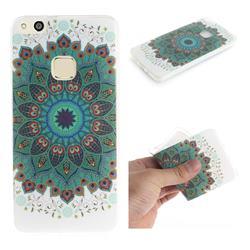 Peacock Mandala IMD Soft TPU Cell Phone Back Cover for Huawei P10 Lite P10Lite