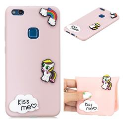 Kiss me Pony Soft 3D Silicone Case for Huawei P10 Lite P10Lite