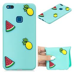 Watermelon Pineapple Soft 3D Silicone Case for Huawei P10 Lite P10Lite