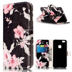 Azalea Flower PU Leather Wallet Case for Huawei P10 Lite P10lite
