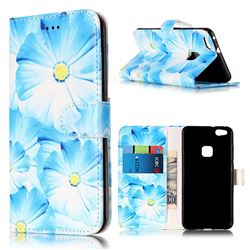 Orchid Flower PU Leather Wallet Case for Huawei P10 Lite P10lite