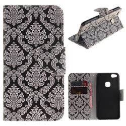 Totem Flowers PU Leather Wallet Case for Huawei P10 Lite P10Lite