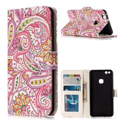 Pepper Flowers 3D Relief Oil PU Leather Wallet Case for Huawei P10 Lite P10Lite