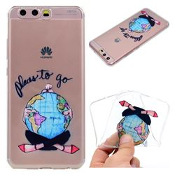 Global Travel Super Clear Soft TPU Back Cover for Huawei P10 Plus