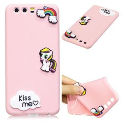 Kiss me Pony Soft 3D Silicone Case for Huawei P10 Plus
