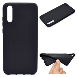 Candy Soft TPU Back Cover for Huawei P20 - Black