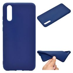 Candy Soft TPU Back Cover for Huawei P20 - Blue