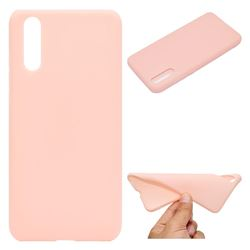 Candy Soft TPU Back Cover for Huawei P20 - Pink