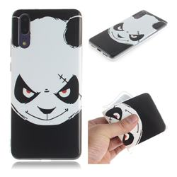 Angry Bear IMD Soft TPU Cell Phone Back Cover for Huawei P20