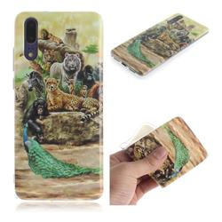 Beast Zoo IMD Soft TPU Cell Phone Back Cover for Huawei P20