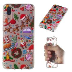 Christmas Playground Super Clear Soft TPU Back Cover for Huawei P20