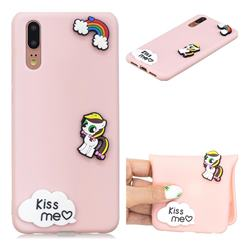 Kiss me Pony Soft 3D Silicone Case for Huawei P20