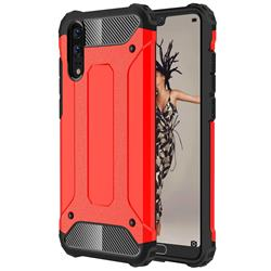 King Kong Armor Premium Shockproof Dual Layer Rugged Hard Cover for Huawei P20 - Big Red