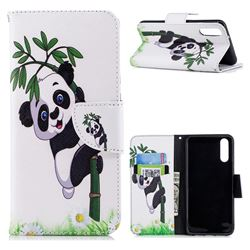 Bamboo Panda Leather Wallet Case for Huawei P20