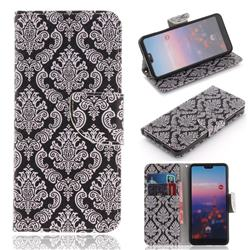 Totem Flowers PU Leather Wallet Case for Huawei P20