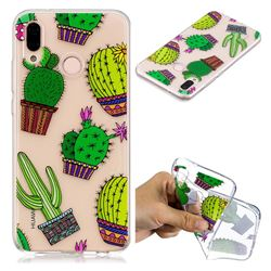 Cactus Ball Super Clear Soft TPU Back Cover for Huawei P20 Lite