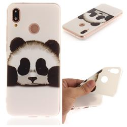 Sleeping Panda IMD Soft TPU Back Cover for Huawei P20 Lite