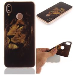 Lion Face IMD Soft TPU Back Cover for Huawei P20 Lite