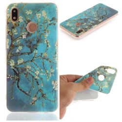 Apricot Tree IMD Soft TPU Back Cover for Huawei P20 Lite