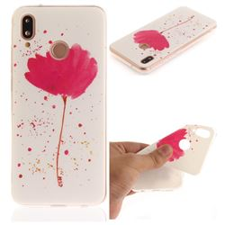 Purple Orchid IMD Soft TPU Back Cover for Huawei P20 Lite