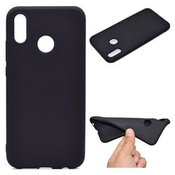 Candy Soft TPU Back Cover for Huawei P20 Lite - Black