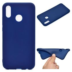 Candy Soft TPU Back Cover for Huawei P20 Lite - Blue