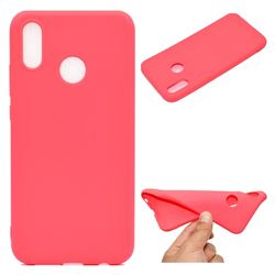 Candy Soft TPU Back Cover for Huawei P20 Lite - Red