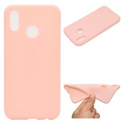 Candy Soft TPU Back Cover for Huawei P20 Lite - Pink