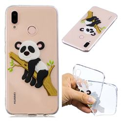 Tree Panda Super Clear Soft TPU Back Cover for Huawei P20 Lite