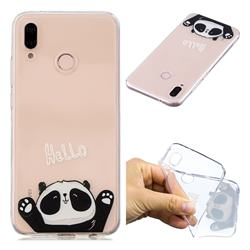 Hello Panda Super Clear Soft TPU Back Cover for Huawei P20 Lite