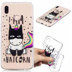 Batman Clear Varnish Soft Phone Back Cover for Huawei P20 Lite