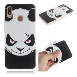 Angry Bear IMD Soft TPU Cell Phone Back Cover for Huawei P20 Lite