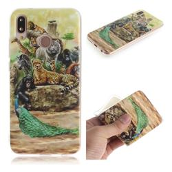 Beast Zoo IMD Soft TPU Cell Phone Back Cover for Huawei P20 Lite