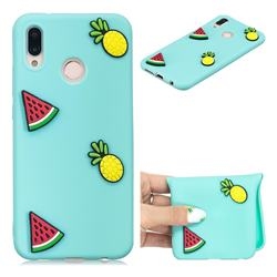 Watermelon Pineapple Soft 3D Silicone Case for Huawei P20 Lite