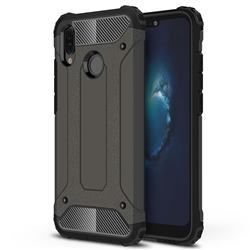 King Kong Armor Premium Shockproof Dual Layer Rugged Hard Cover for Huawei P20 Lite - Bronze
