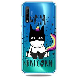 Batman Clear Varnish Soft Phone Back Cover for Huawei P20 Lite(2019)