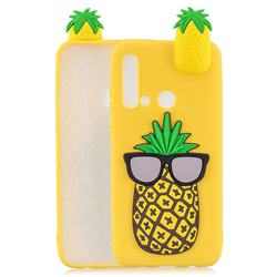 Big Pineapple Soft 3D Climbing Doll Soft Case for Huawei P20 Lite(2019)