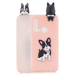 Cute Dog Soft 3D Climbing Doll Soft Case for Huawei P20 Lite(2019)