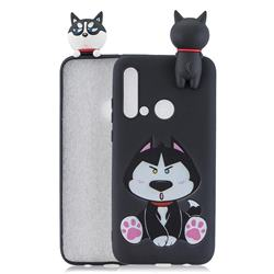 Staying Husky Soft 3D Climbing Doll Soft Case for Huawei P20 Lite(2019)