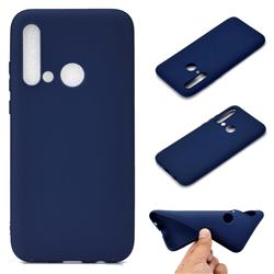 Candy Soft TPU Back Cover for Huawei P20 Lite(2019) - Blue