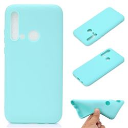 Candy Soft TPU Back Cover for Huawei P20 Lite(2019) - Green