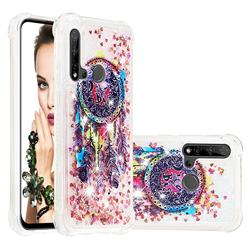 Seal Wind Chimes Dynamic Liquid Glitter Sand Quicksand Star TPU Case for Huawei P20 Lite(2019)